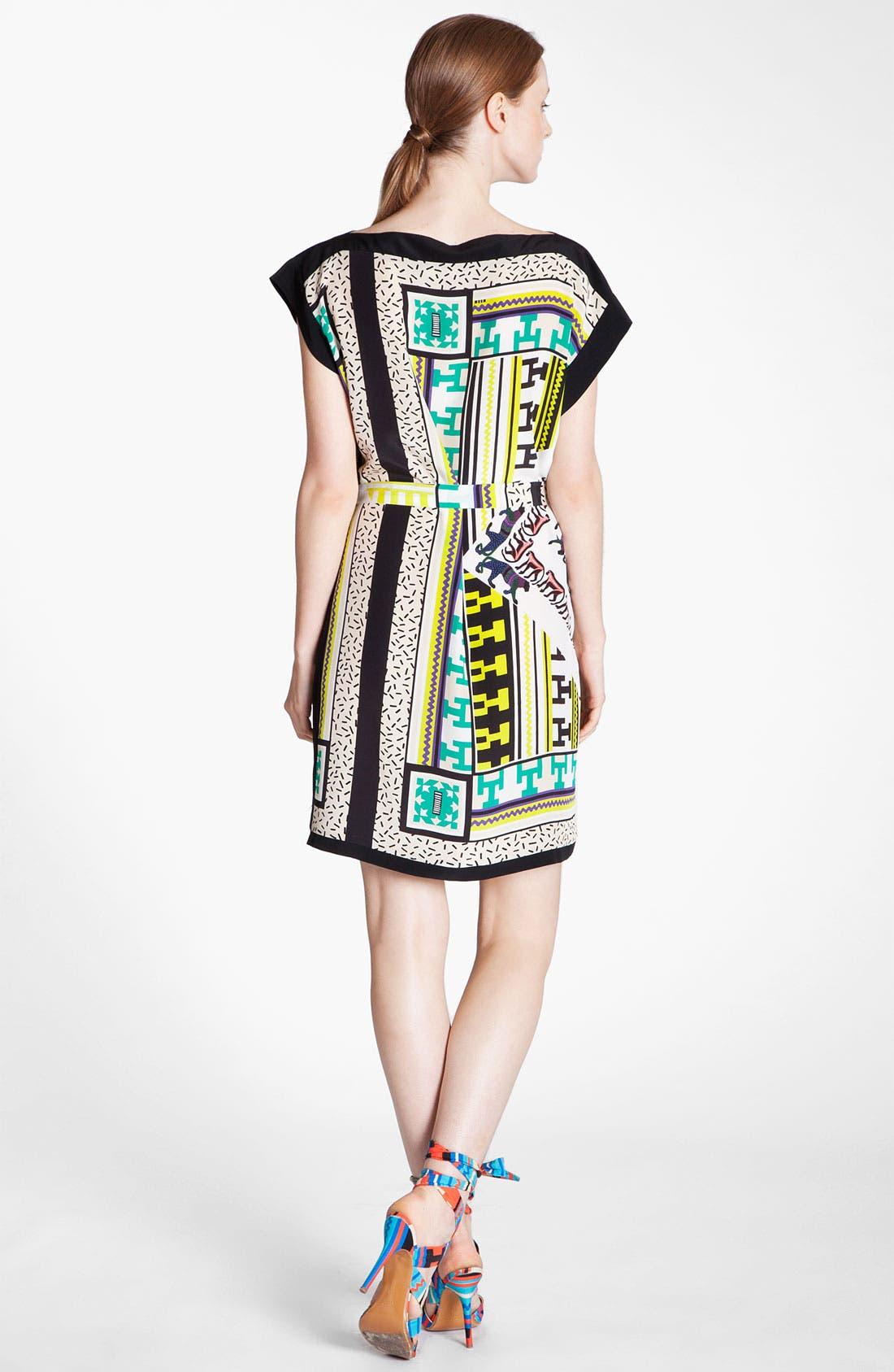 Alternate Image 3  - MSGM Belted Foulard Dress
