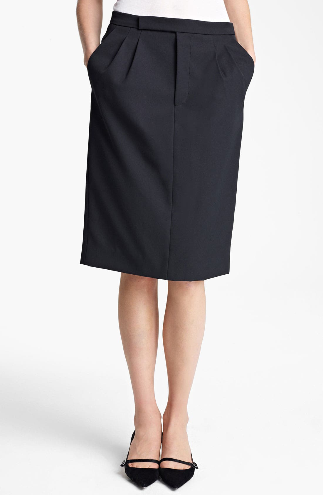 Alternate Image 1 Selected - MARC JACOBS Techno Twill Skirt