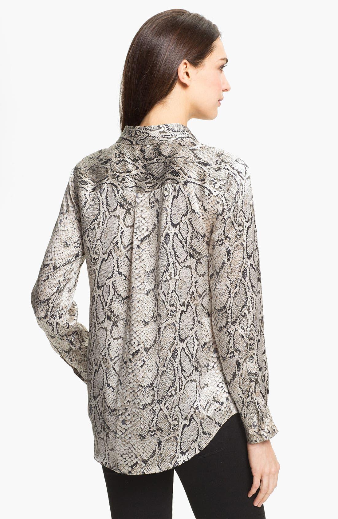 Alternate Image 2  - Equipment 'Signature' Print Silk Shirt
