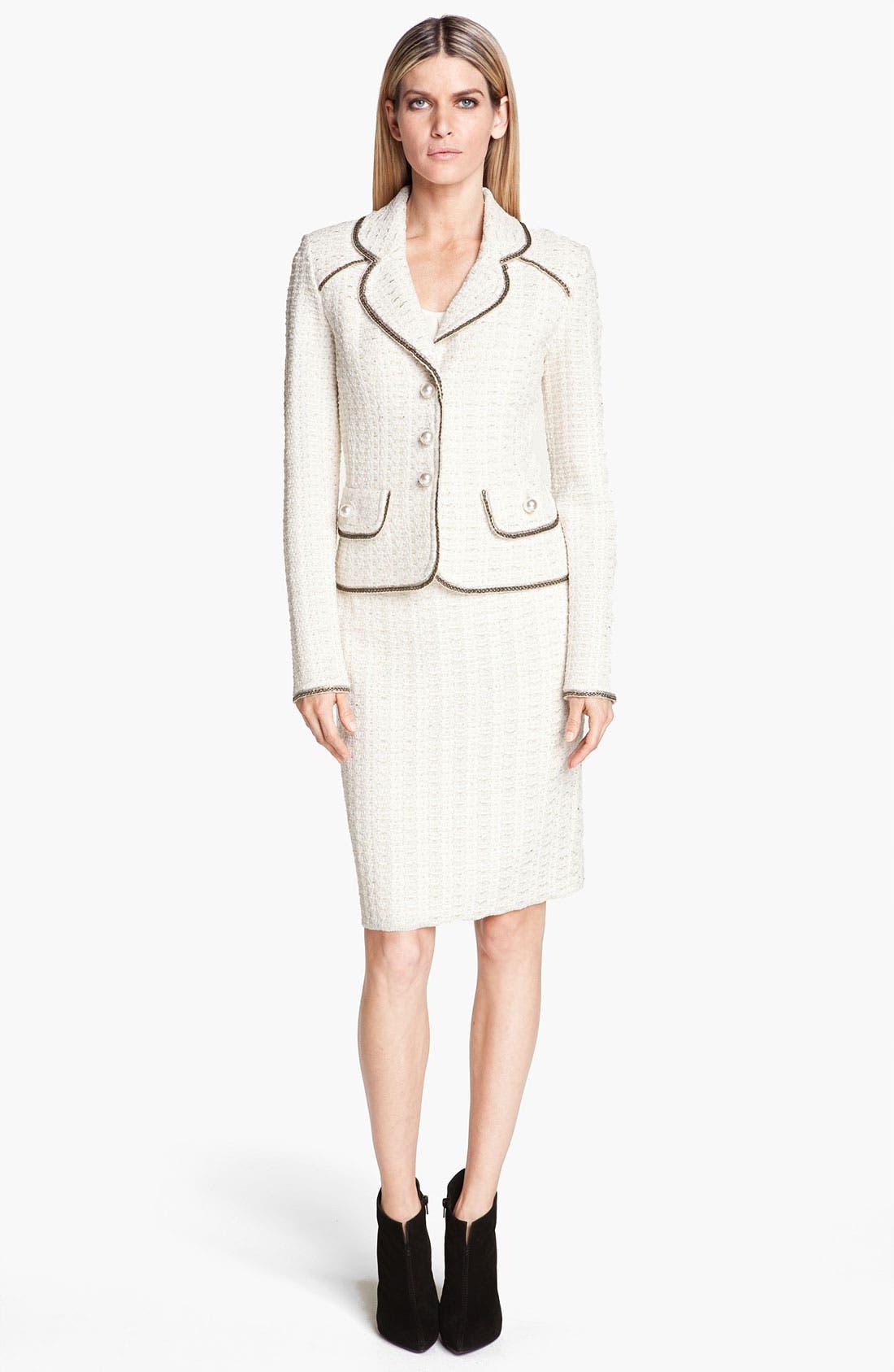 Alternate Image 2  - St. John Collection Belgravia Tweed Jacket