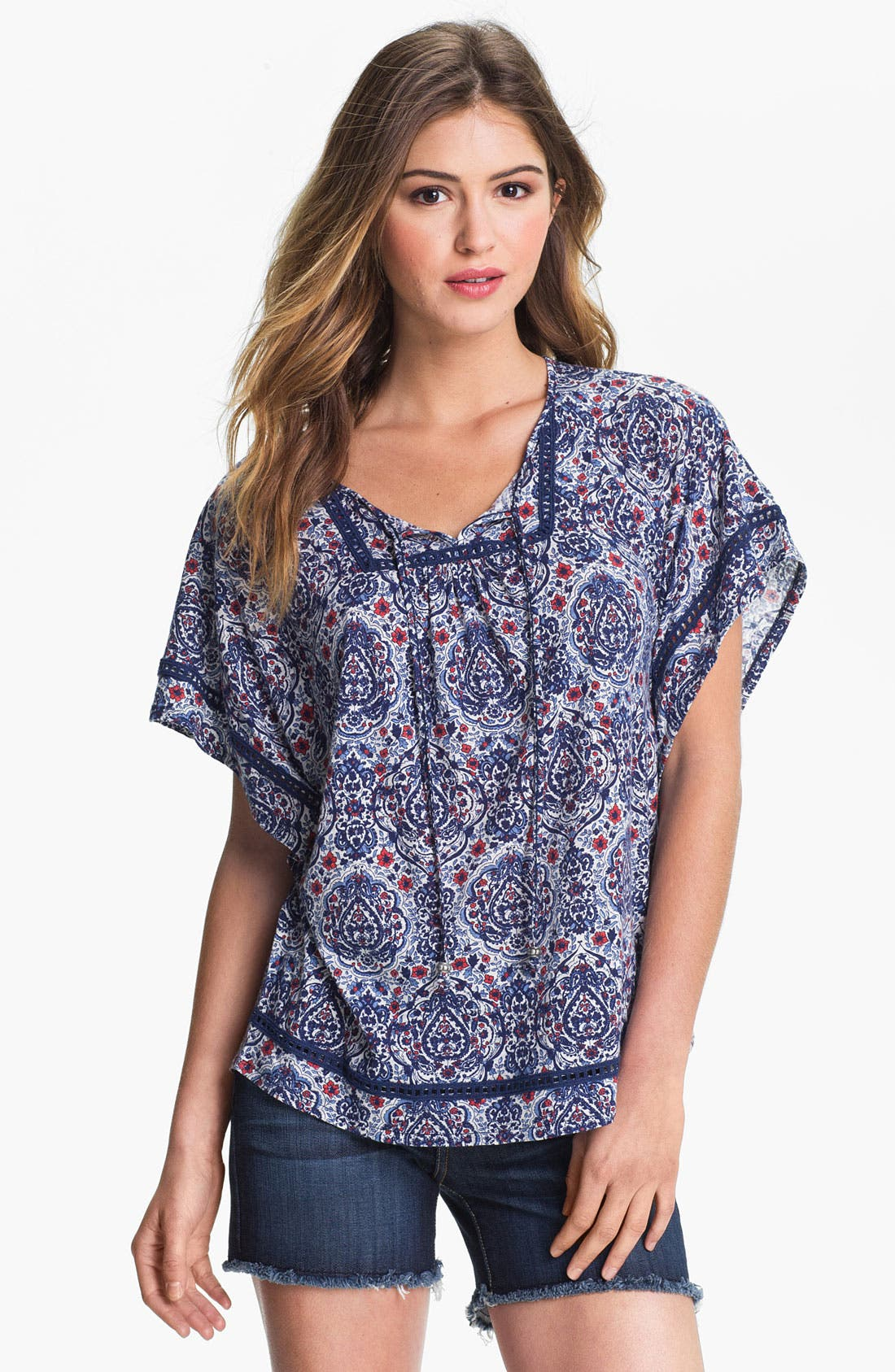 Alternate Image 1 Selected - Lucky Brand 'Temezcal Beatrix' Top