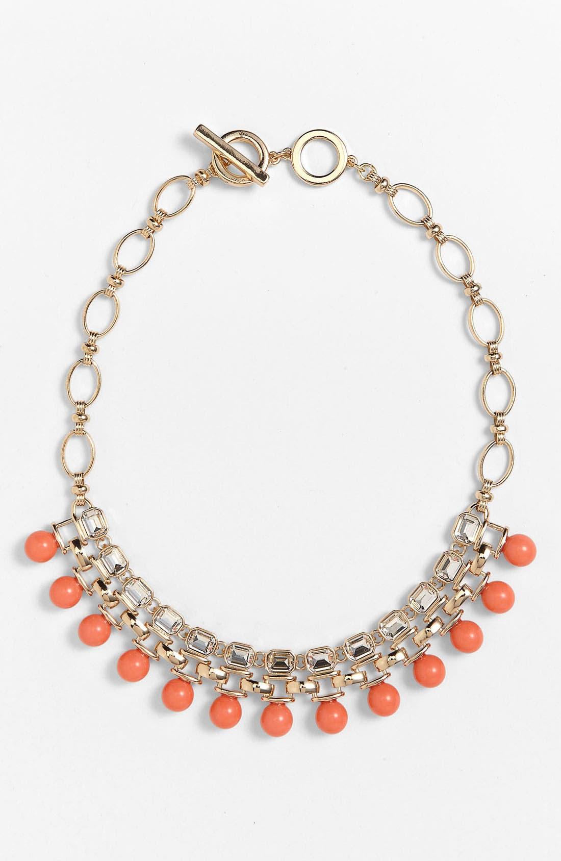 Alternate Image 1 Selected - Anne Klein Bib Necklace
