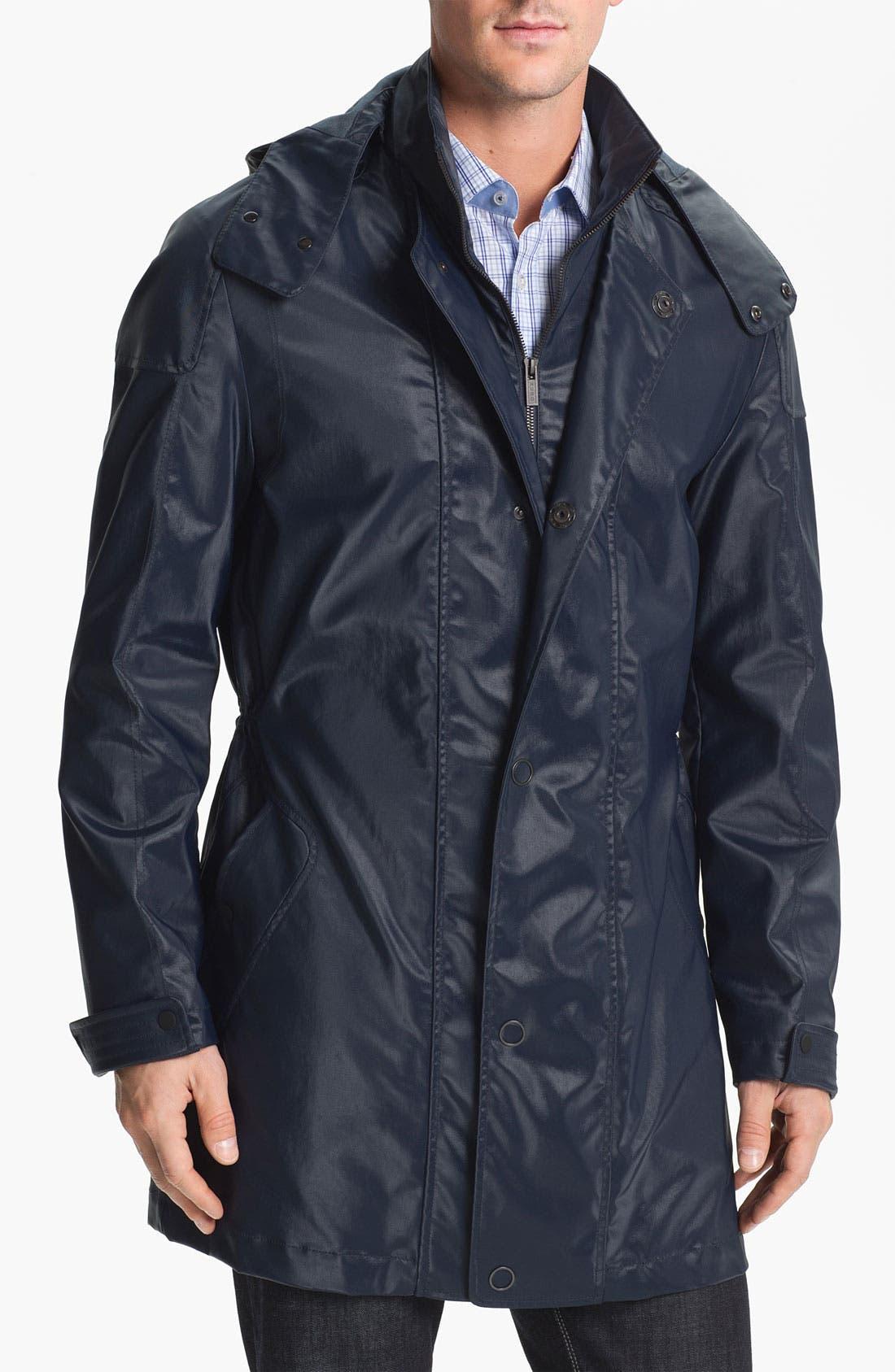 Alternate Image 1 Selected - HUGO 'Marinus' Rain Coat (Online Exclusive)