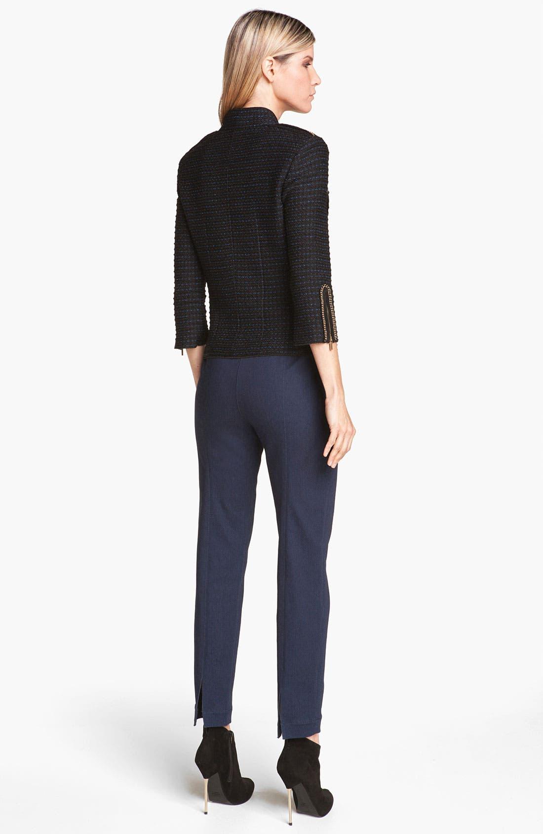Alternate Image 3  - St. John Collection Military Tweed Knit Jacket