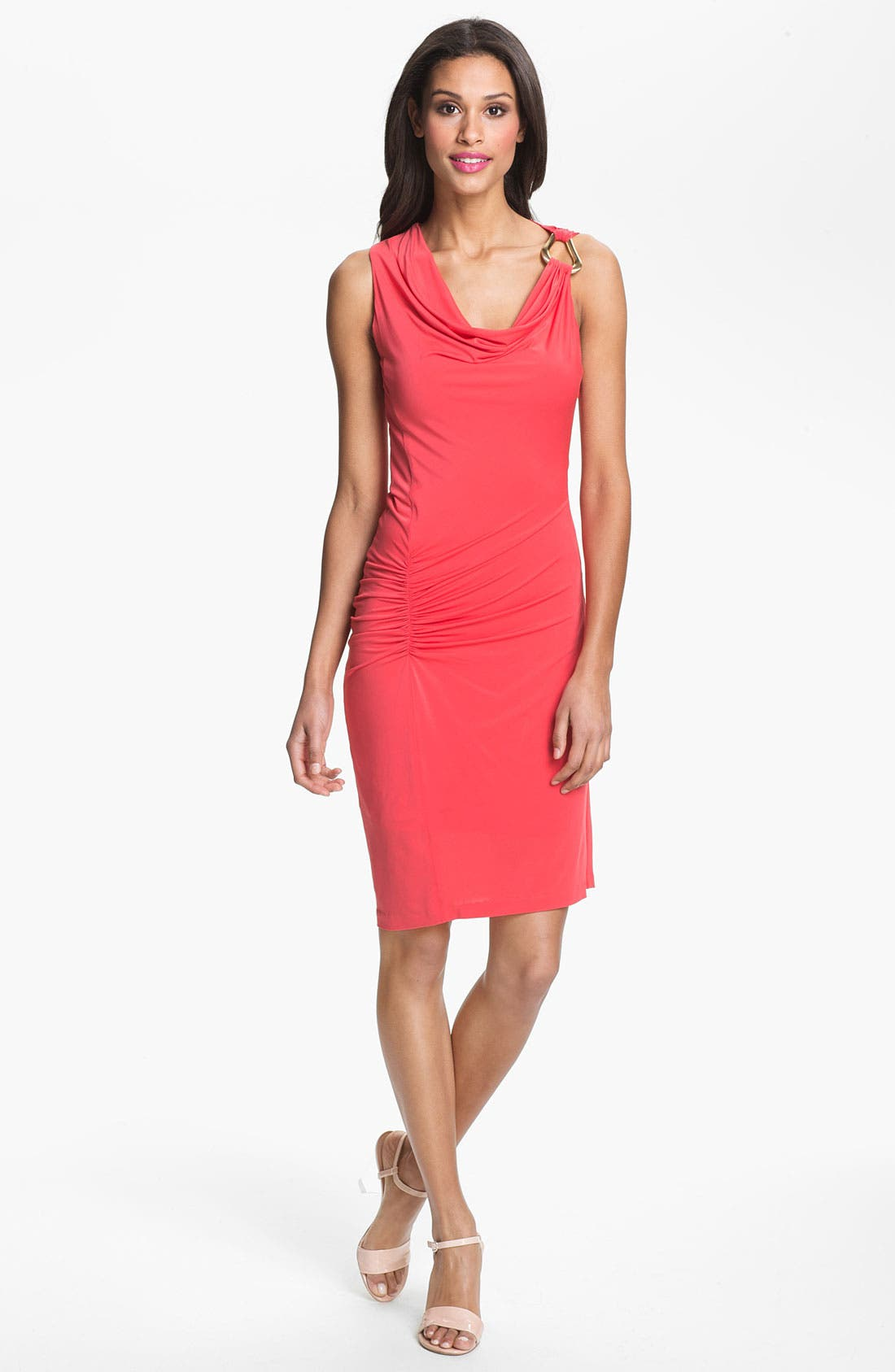 Alternate Image 1 Selected - Halston Heritage Draped Jersey Dress