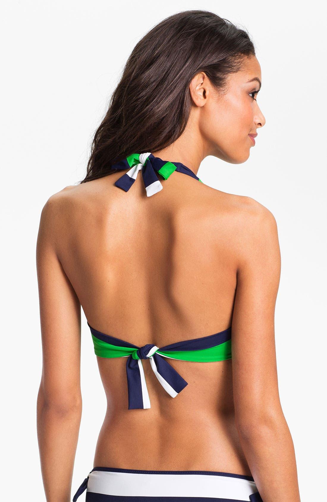 Alternate Image 2  - Tommy Bahama 'Rugby Stripe' Underwire Bikini Top