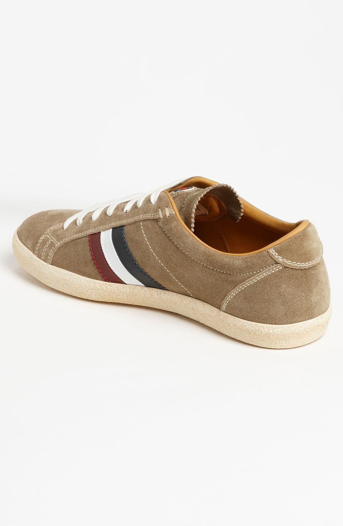 Alternate Image 2  - Moncler 'Monaco' Suede Sneaker