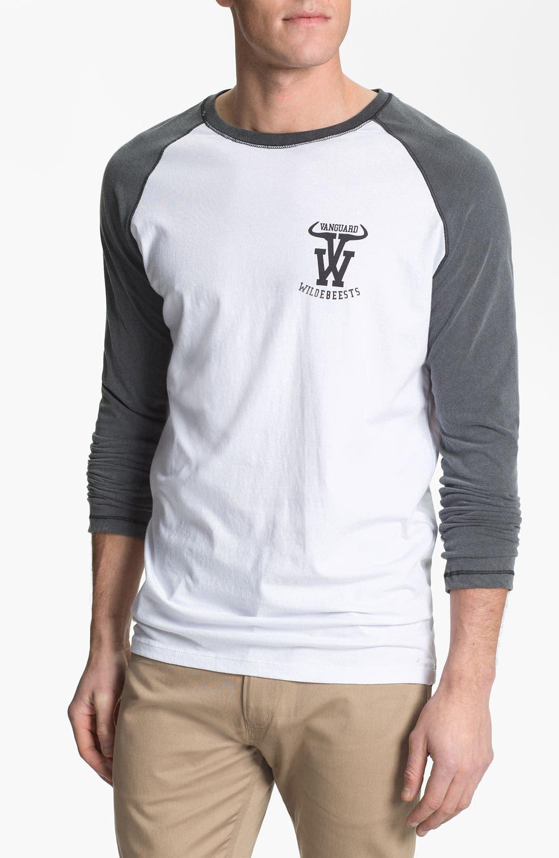 Alternate Image 1 Selected - Vanguard 'Wildebeests' Graphic Baseball T-Shirt