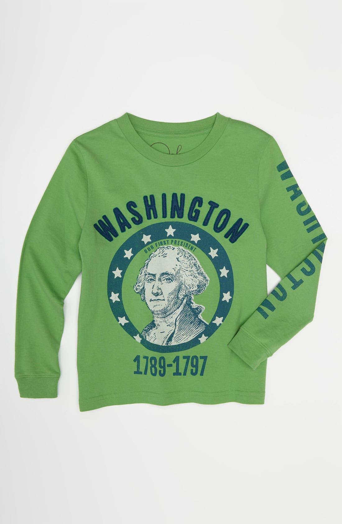 Alternate Image 1 Selected - Peek 'Washington' T-Shirt (Toddler, Little Boys & Big Boys)