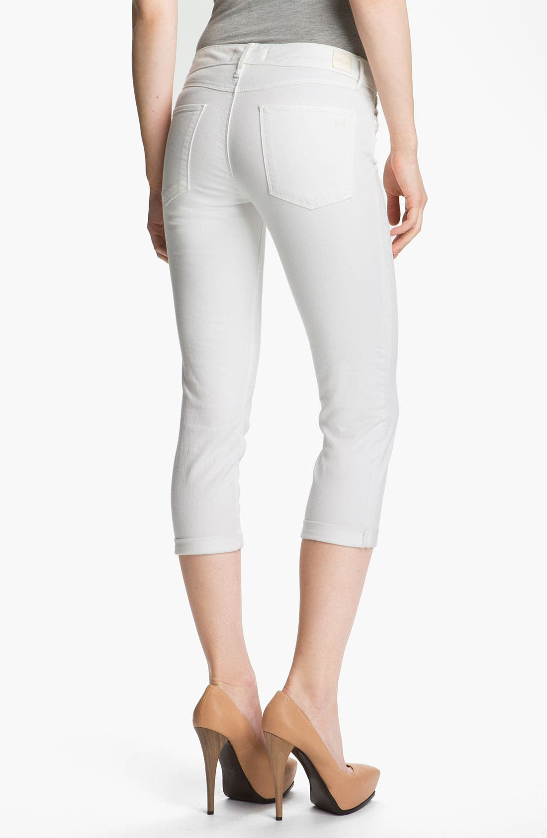 Alternate Image 2  - Habitual 'Angelina' Cigarette Leg Crop Jeans