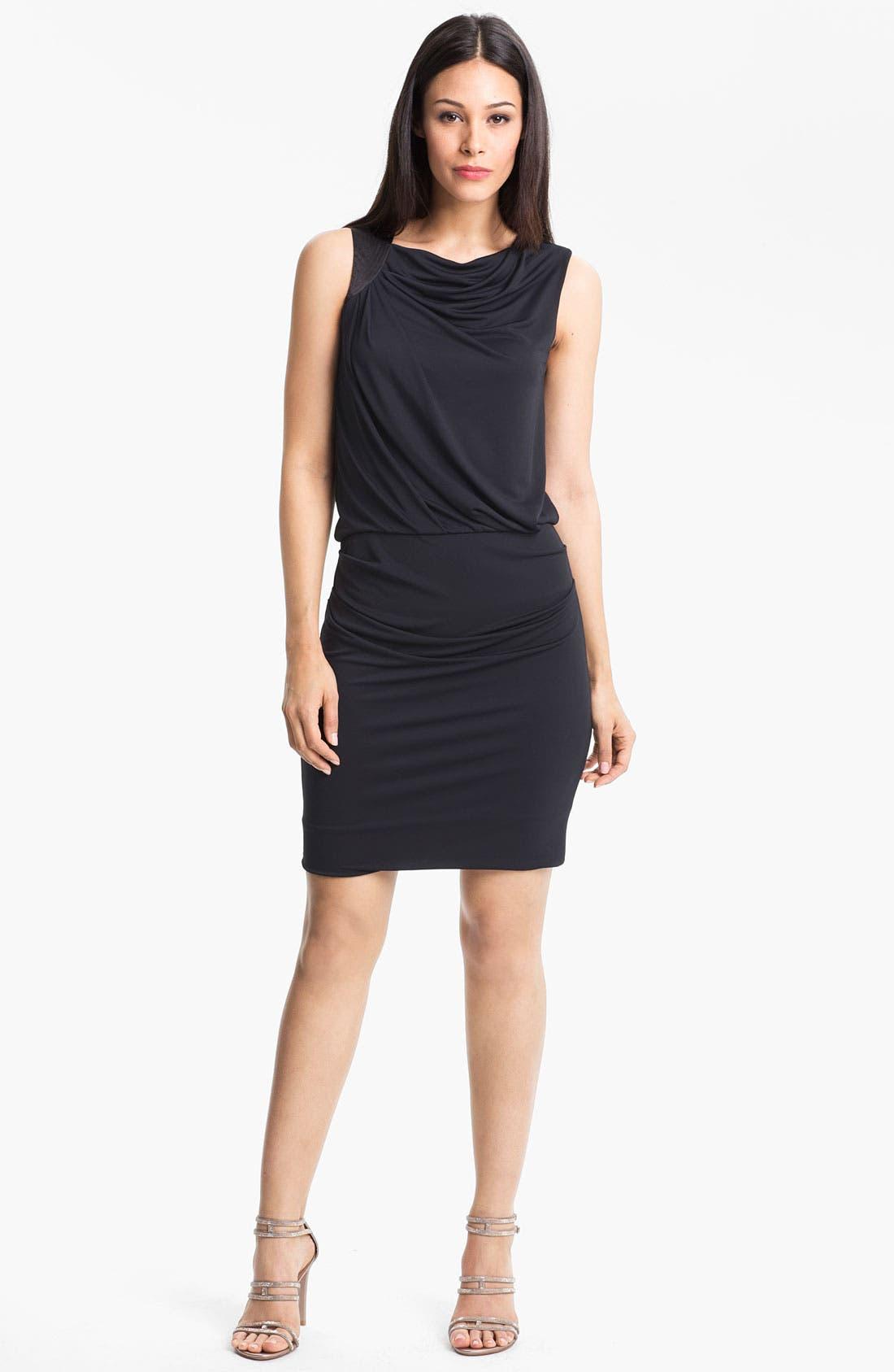 Main Image - Halston Heritage Draped Jersey Dress