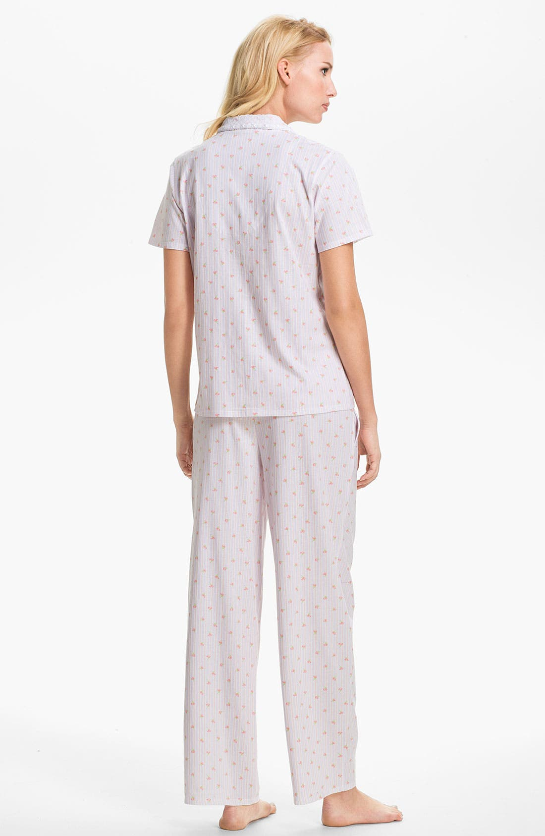 Alternate Image 2  - Eileen West 'Pastoral Beauty' Pajamas