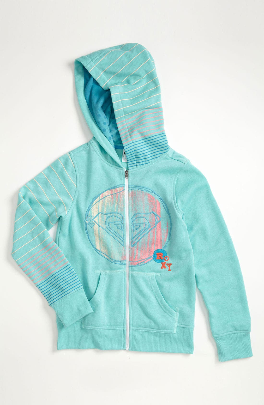Main Image - Roxy 'Free Love' Hoodie (Big Girls)