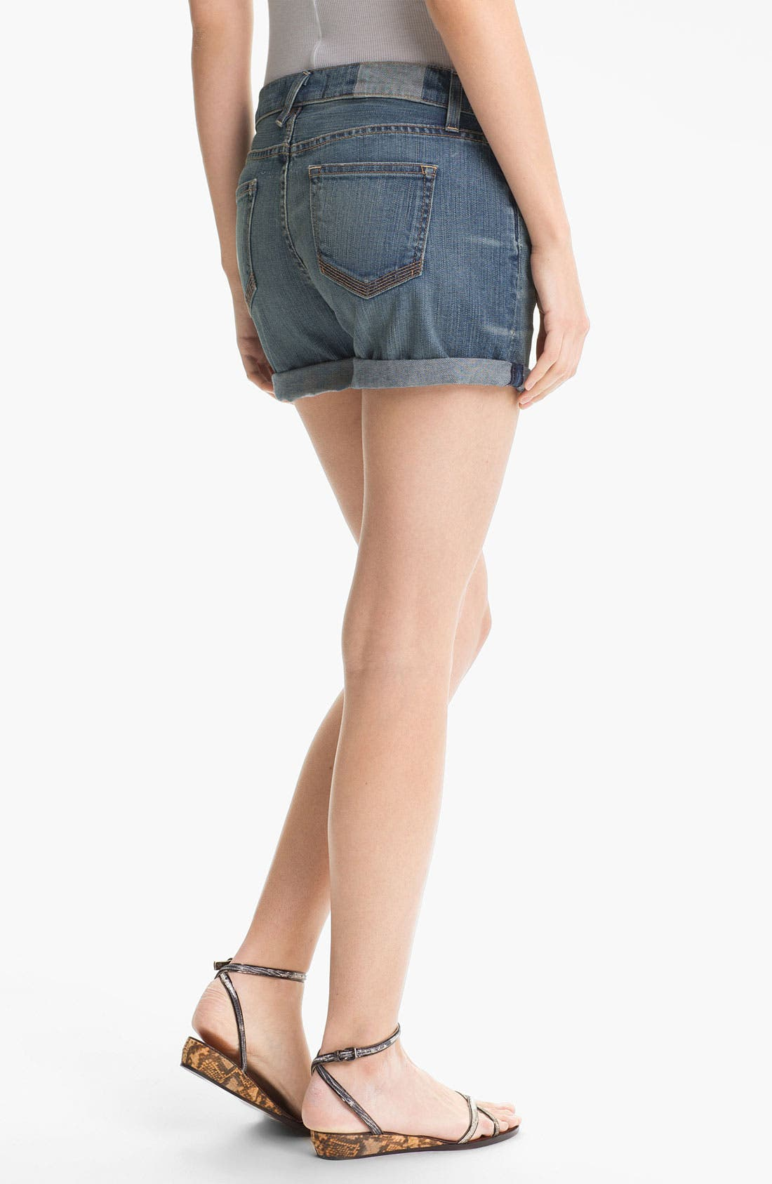 Alternate Image 2  - TEXTILE Elizabeth and James 'Nell' Cuffed Denim Shorts
