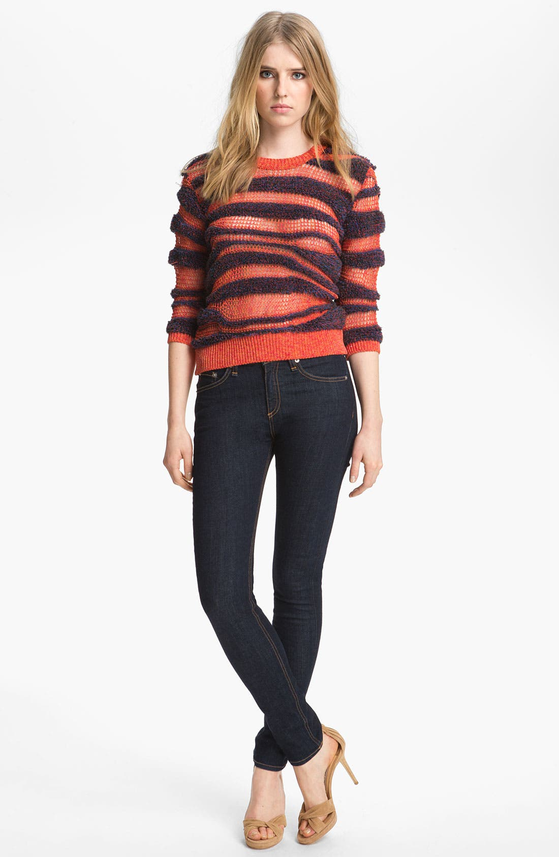 Alternate Image 1 Selected - KENZO Sponge Stitch Sweater