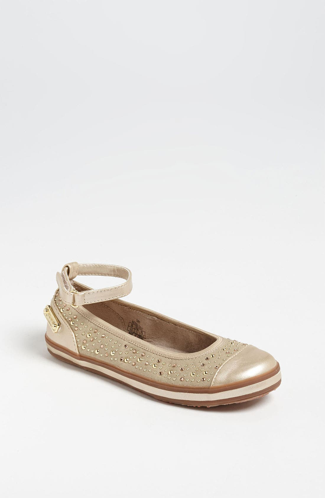 Alternate Image 1 Selected - KORS Michael Kors 'Capri' Flat (Little Kid & Big Kid)