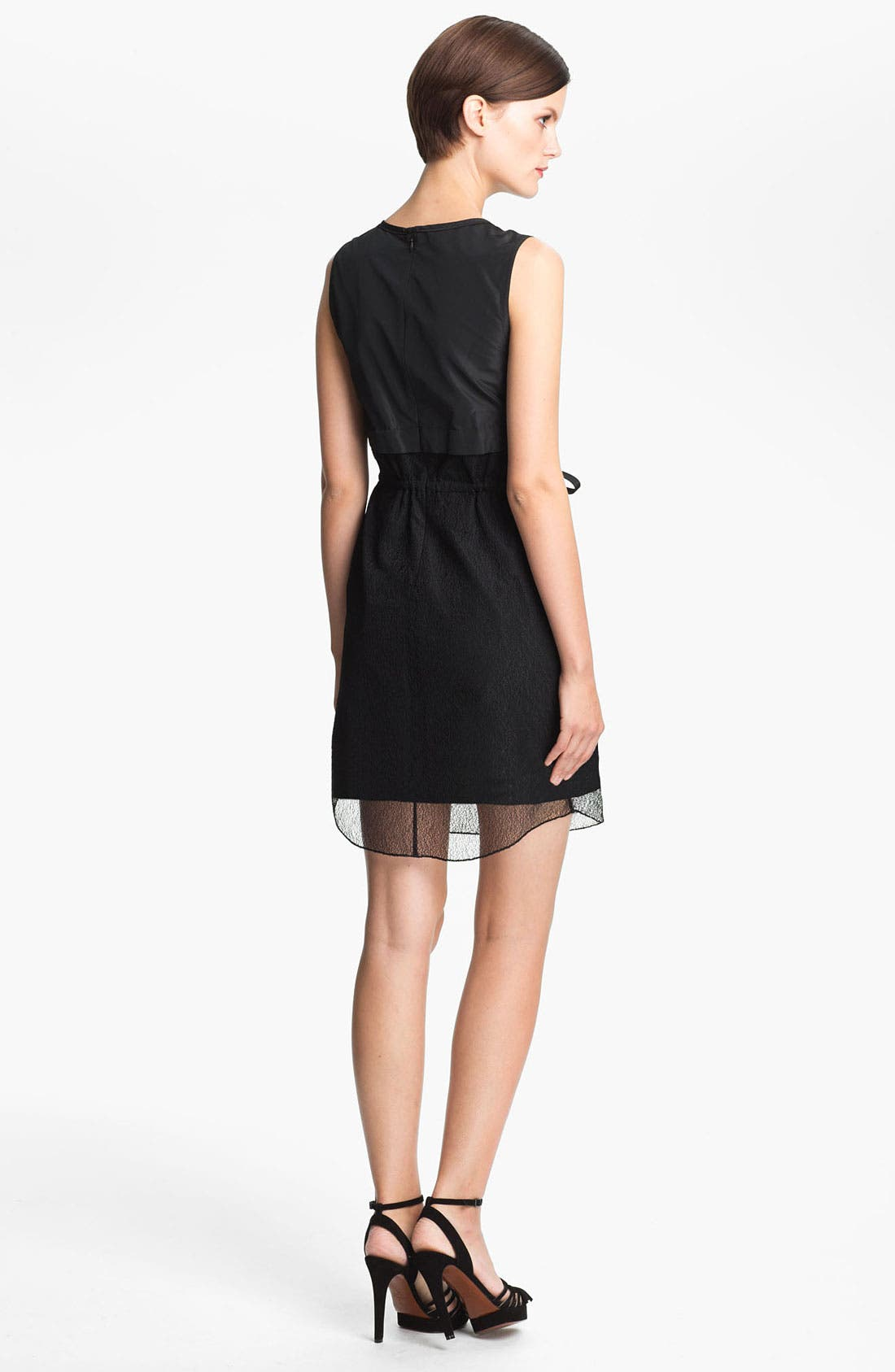 Alternate Image 2  - Carven Lace Overlay Dress