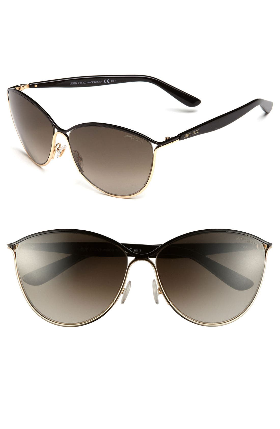 Main Image - Jimmy Choo 'Tanis' 59mm Cat's Eye Sunglasses