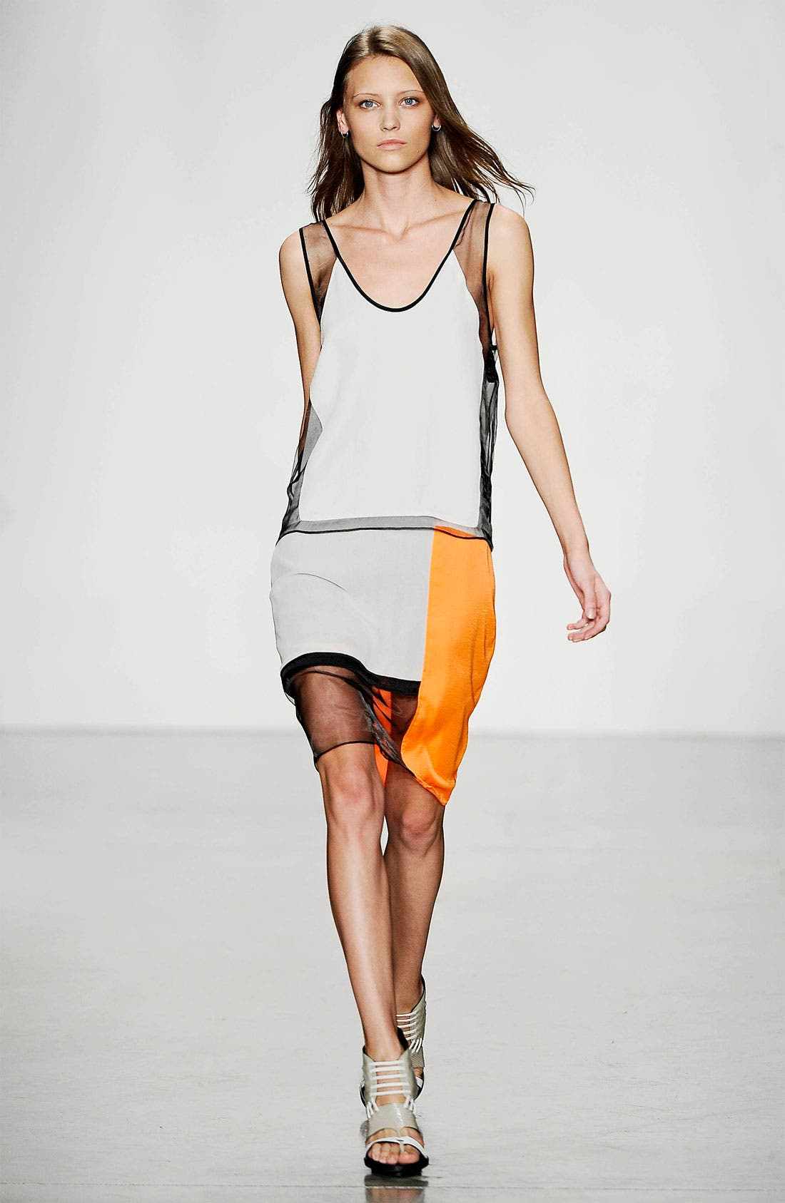 Alternate Image 3  - Helmut Lang 'Chroma' Draped Dress