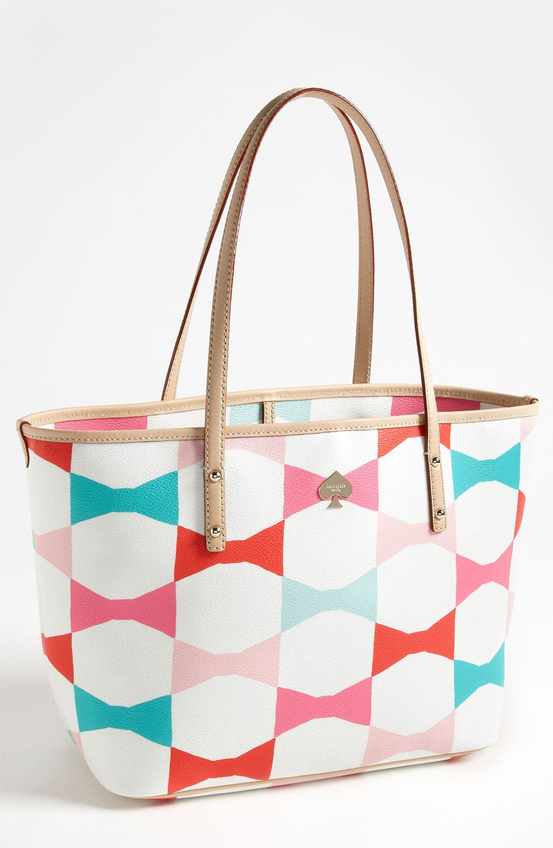 Alternate Image 1 Selected - kate spade new york 'signature bow harmony - small' tote