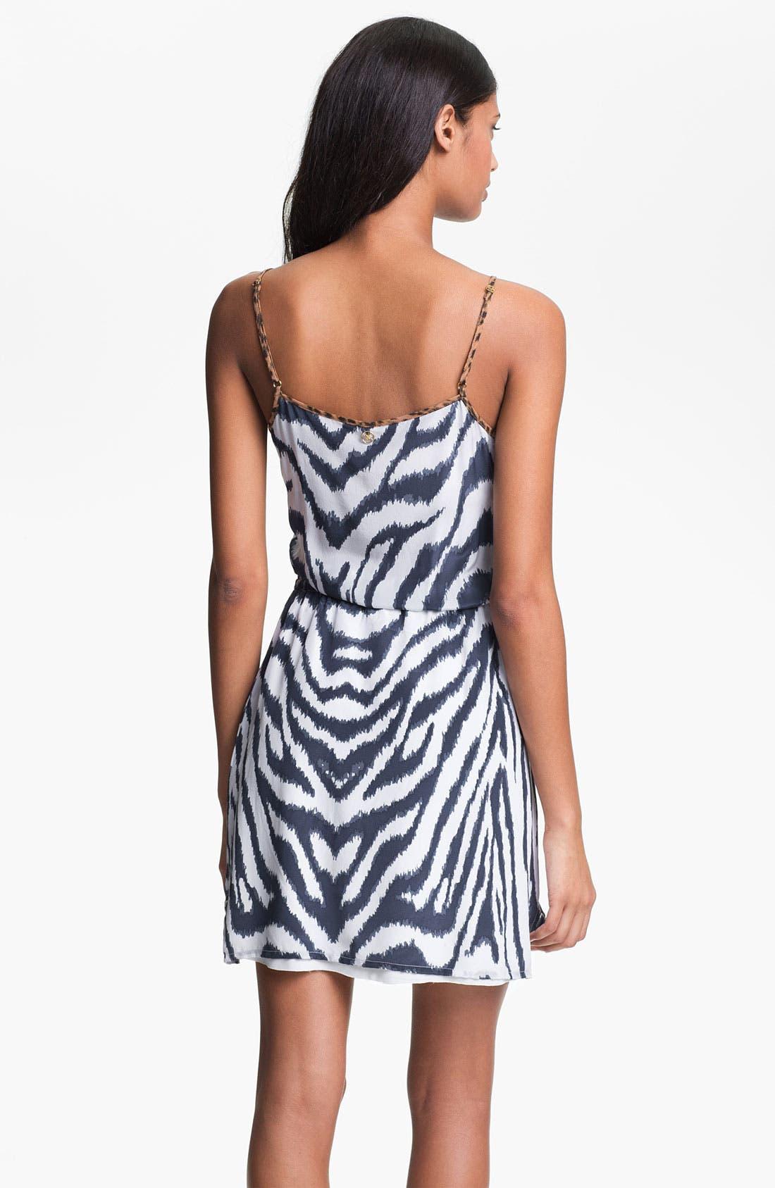 Alternate Image 2  - ViX Swimwear 'Cape Navy Rachel' Cover-Up Dress