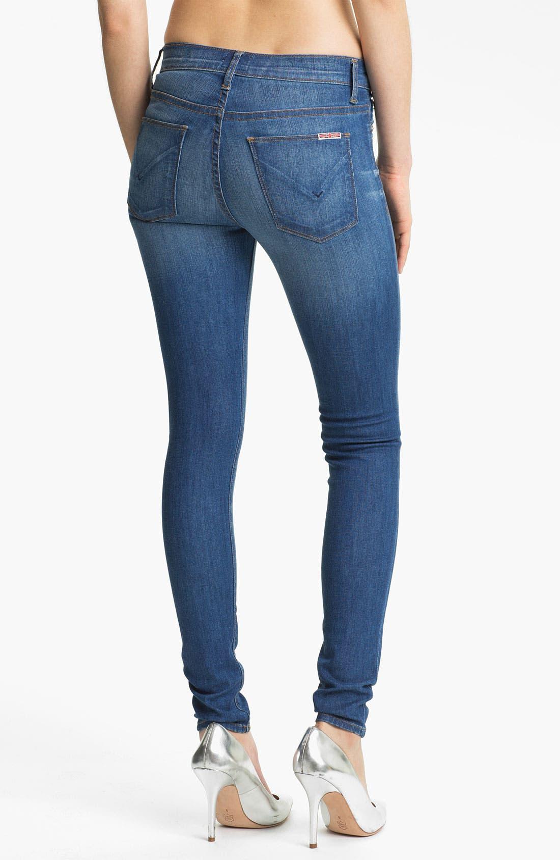 Alternate Image 2  - Hudson Jeans 'Nico' Skinny Stretch Jeans (Morrissey)
