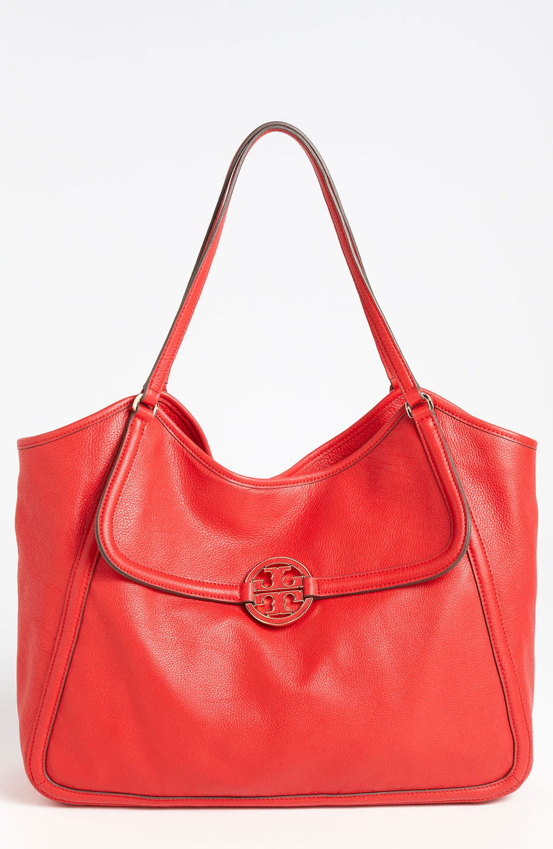 Main Image - Tory Burch 'Amanda' Leather Tote