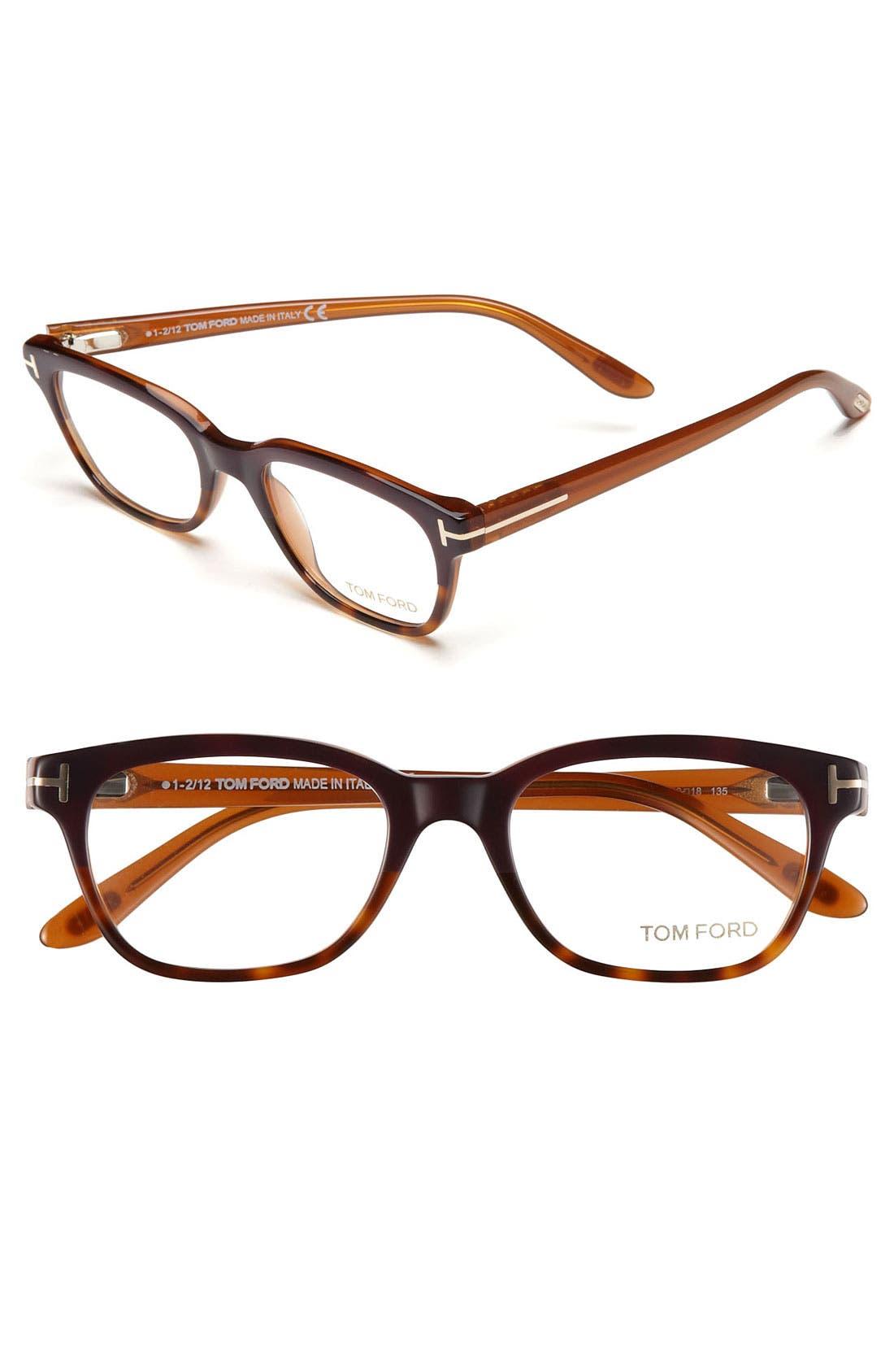 Alternate Image 1 Selected - Tom Ford 49mm Optical Glasses (Online Only)