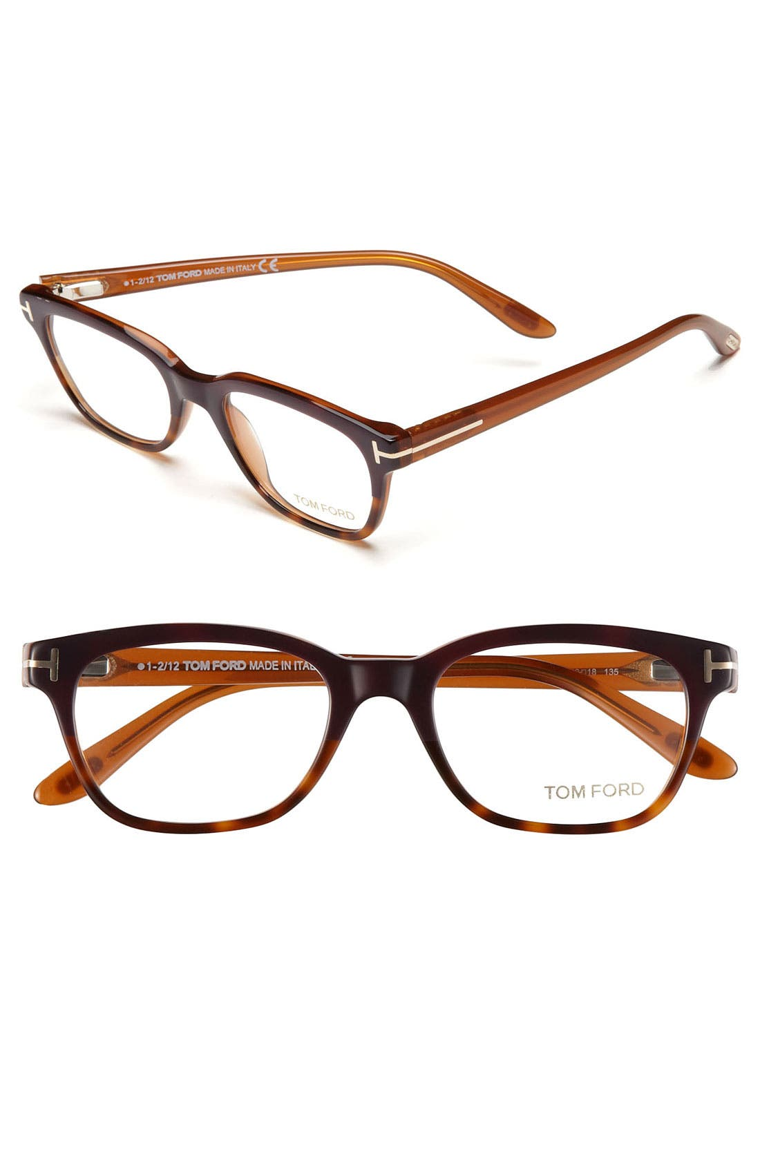 Main Image - Tom Ford 49mm Optical Glasses (Online Only)