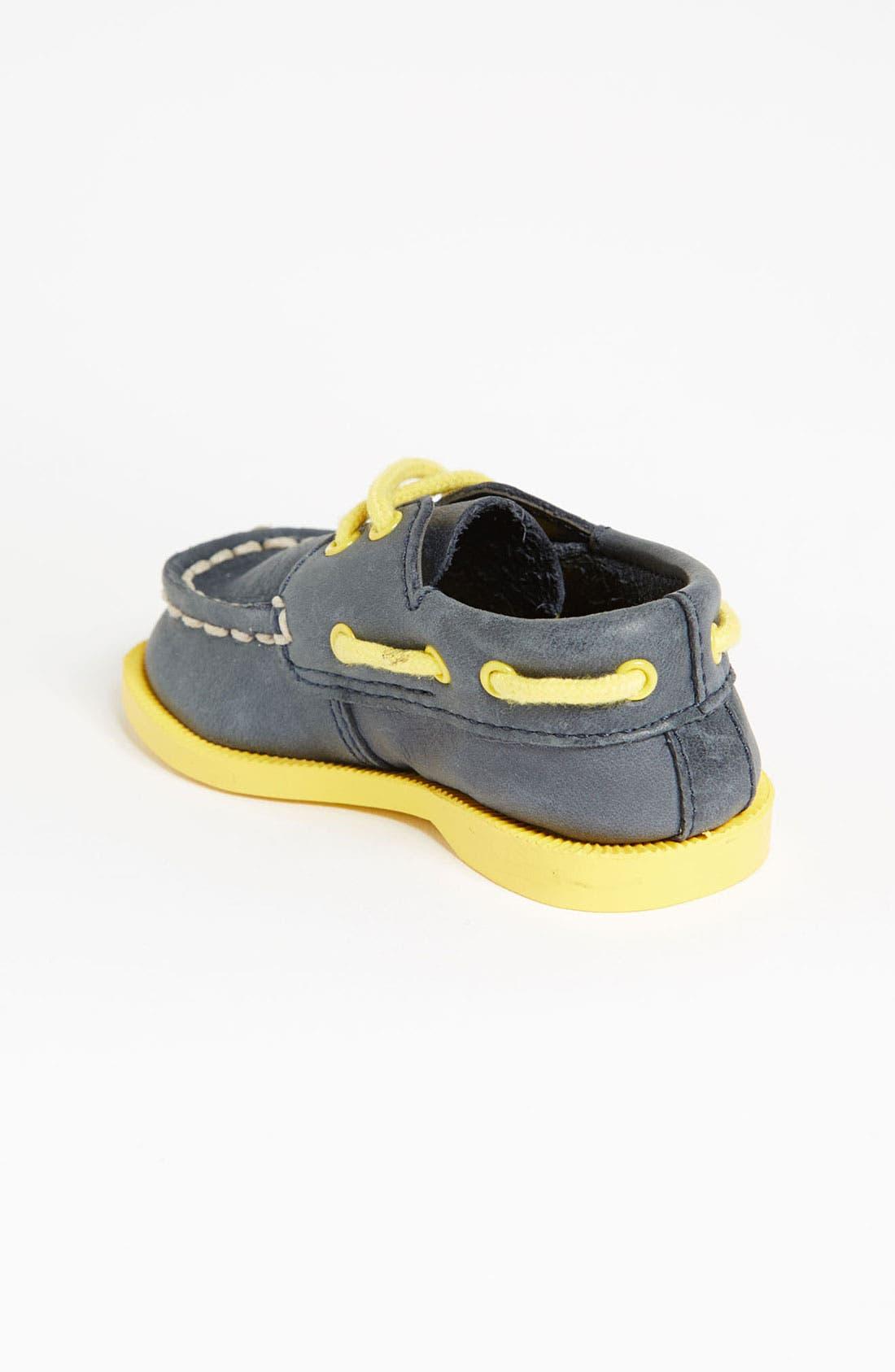 Alternate Image 2  - Sperry Top-Sider® Kids 'Authentic Original' Crib Shoe (Baby)