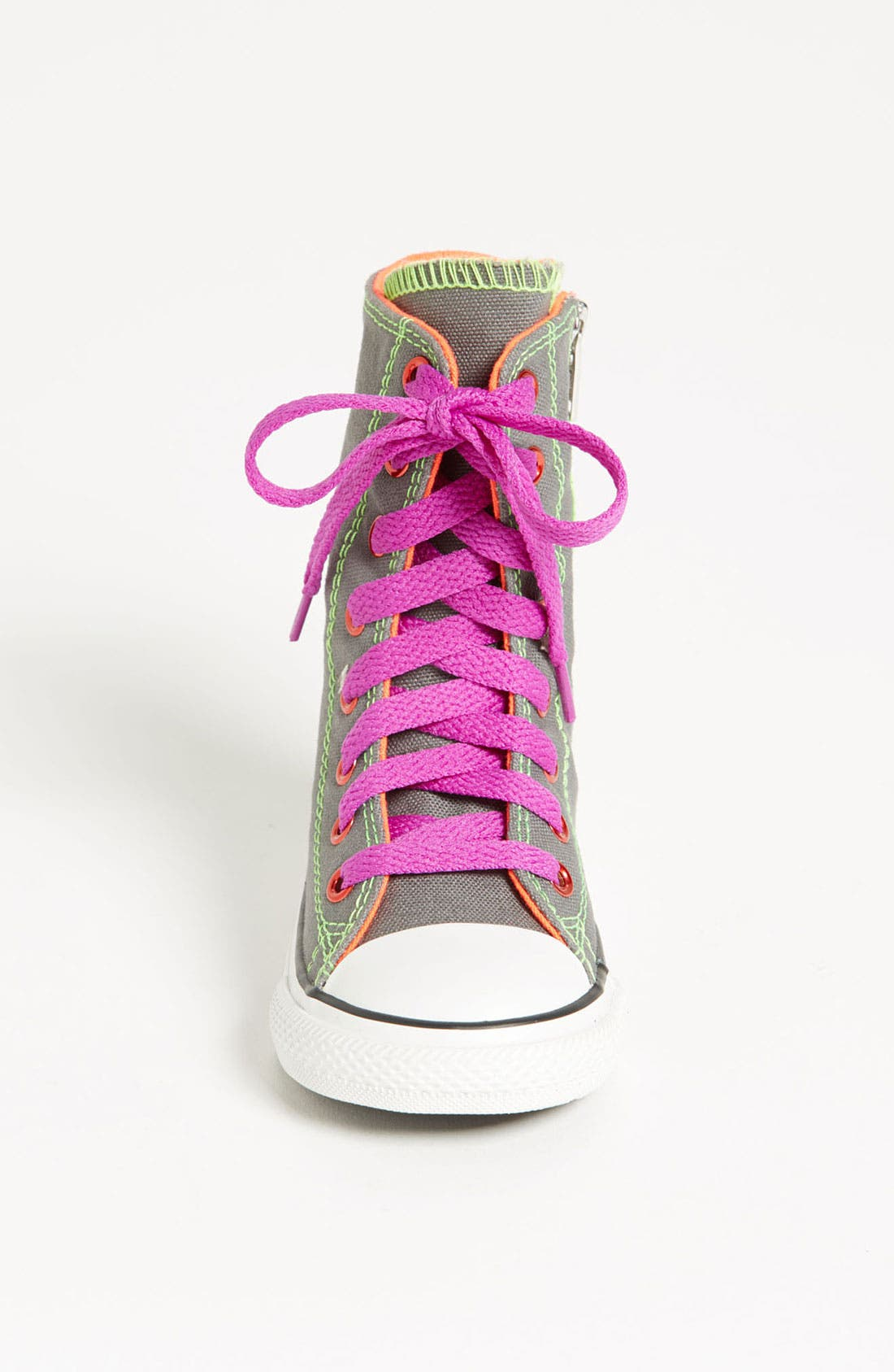 Alternate Image 3  - Converse Chuck Taylor® All Star® 'Neon X-HI' Sneaker (Walker & Toddler)