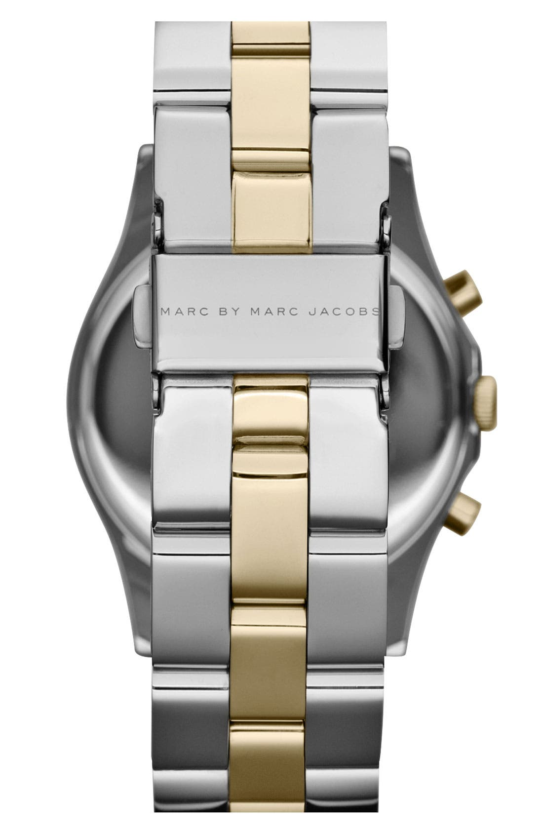 Alternate Image 3  - MARC JACOBS 'Henry' Chronograph & Crystal Topring Watch