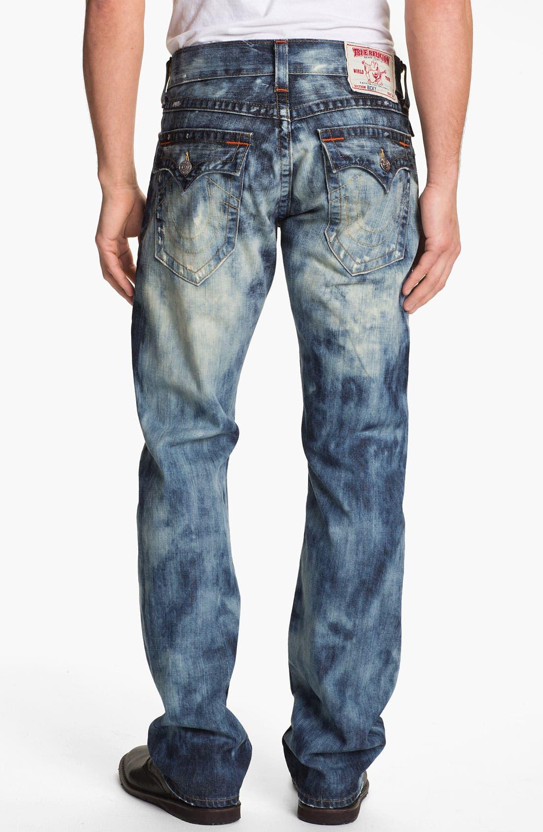 Alternate Image 1 Selected - True Religion Brand Jeans 'Ricky' Straight Leg Jeans (Antelope)