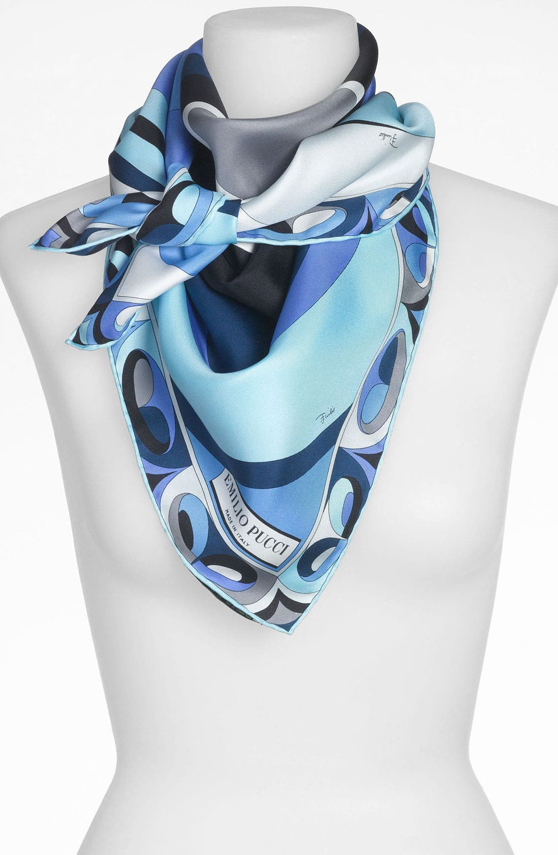 Alternate Image 1 Selected - Emilio Pucci 'Ying Yang Timeless' Silk Scarf