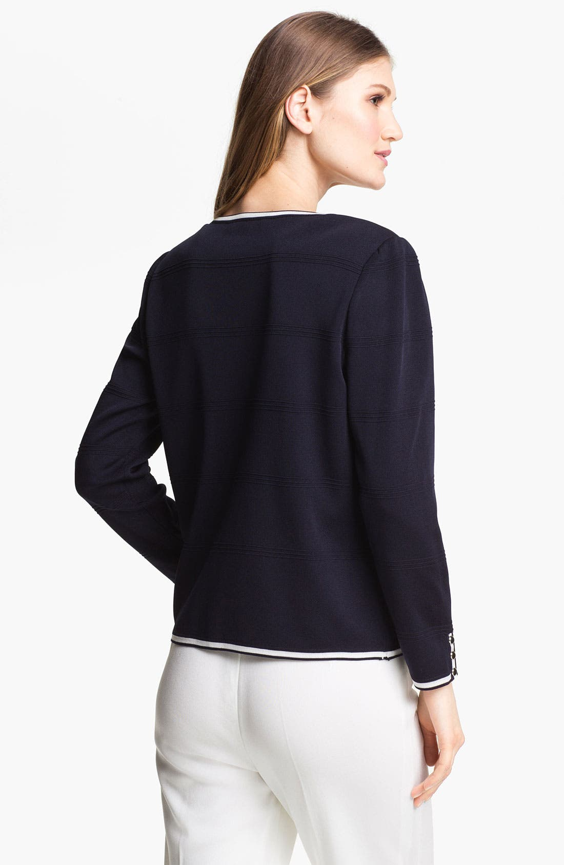Alternate Image 2  - Ming Wang V-Neck Jacket