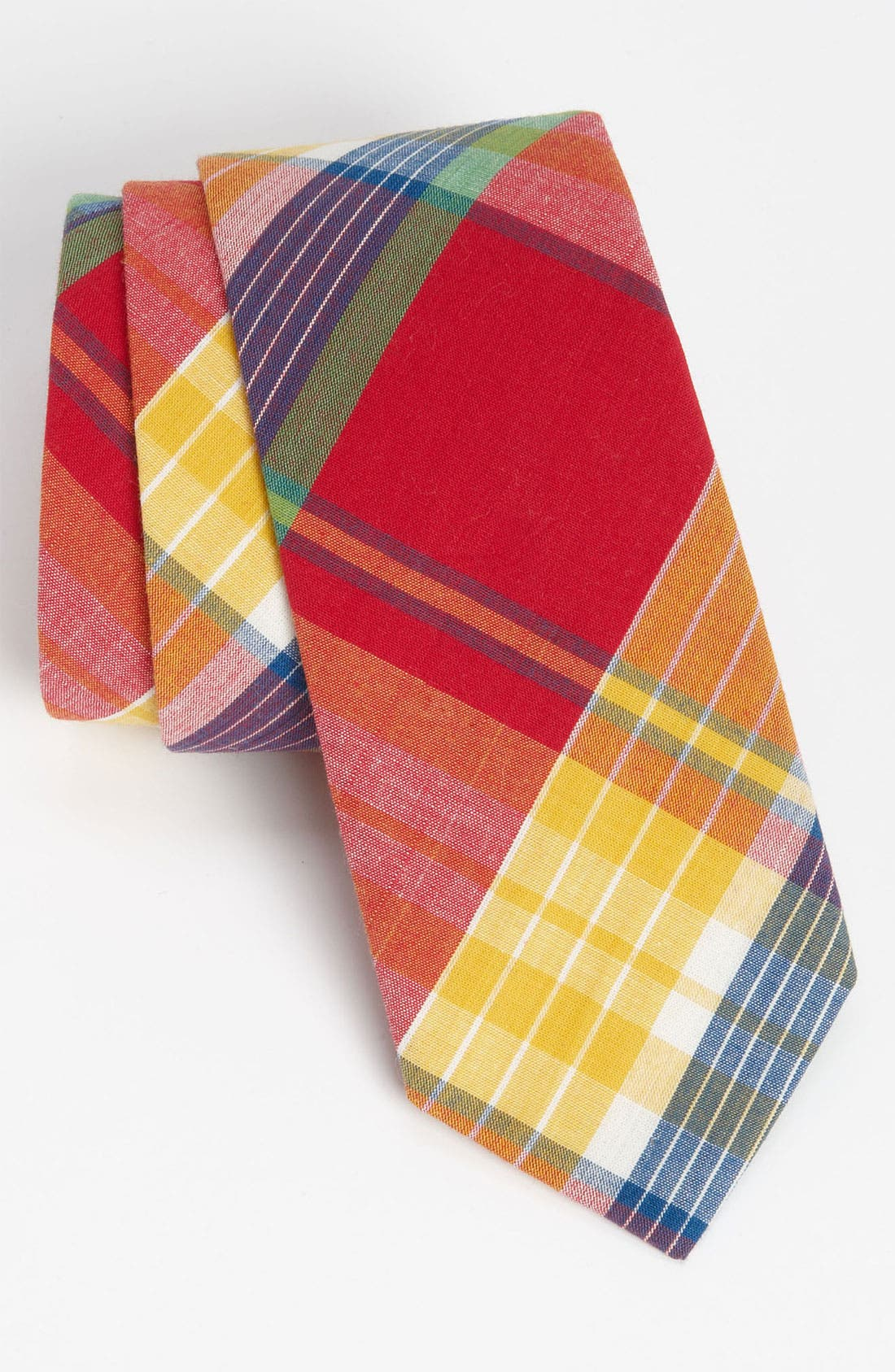 Main Image - Gitman Woven Cotton Tie