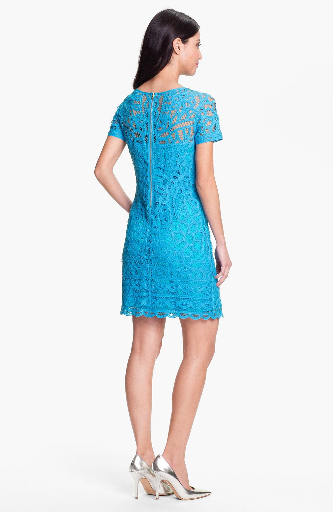Alternate Image 2  - Lilly Pulitzer® 'Marie Kate' Lace Cotton Dress