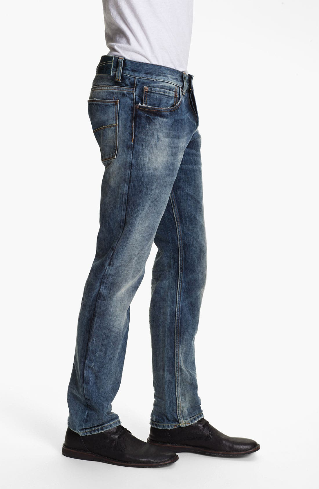 Alternate Image 3  - Gilded Age 'Baxten' Slim Fit Jeans (Light)