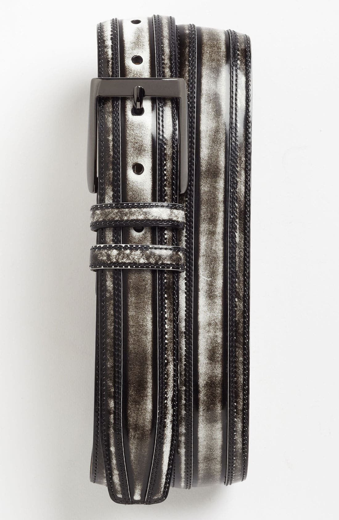 Alternate Image 1 Selected - Mezlan 'Shade' Leather Belt