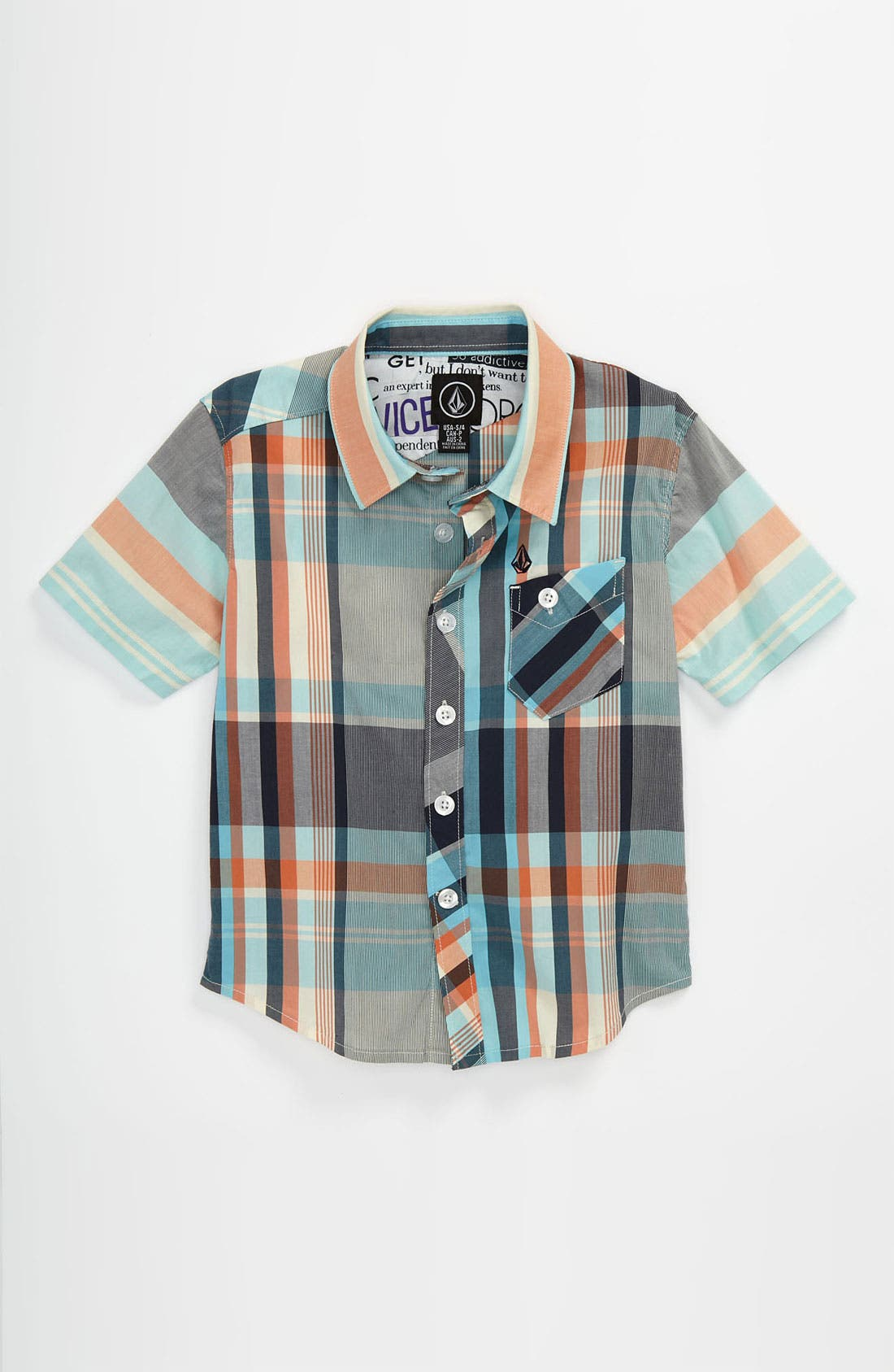 Alternate Image 1 Selected - Volcom 'Lonsway' Woven Shirt (Big Boys)