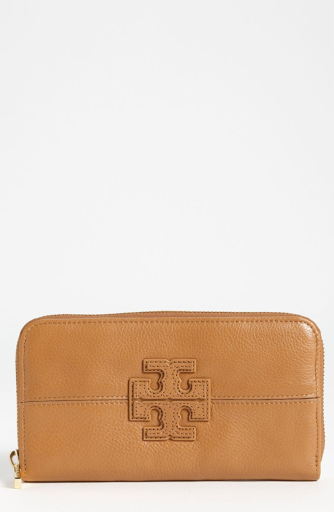 Alternate Image 1 Selected - Tory Burch 'Stacked T' Continental Wallet