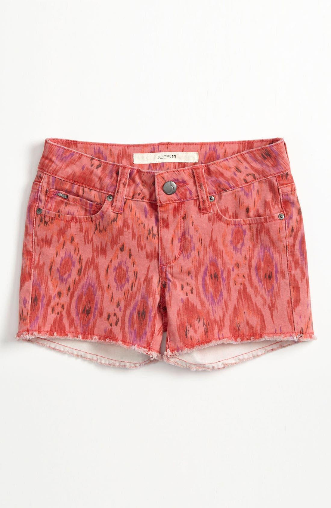 Alternate Image 2  - Joe's Print Shorts (Big Girls)