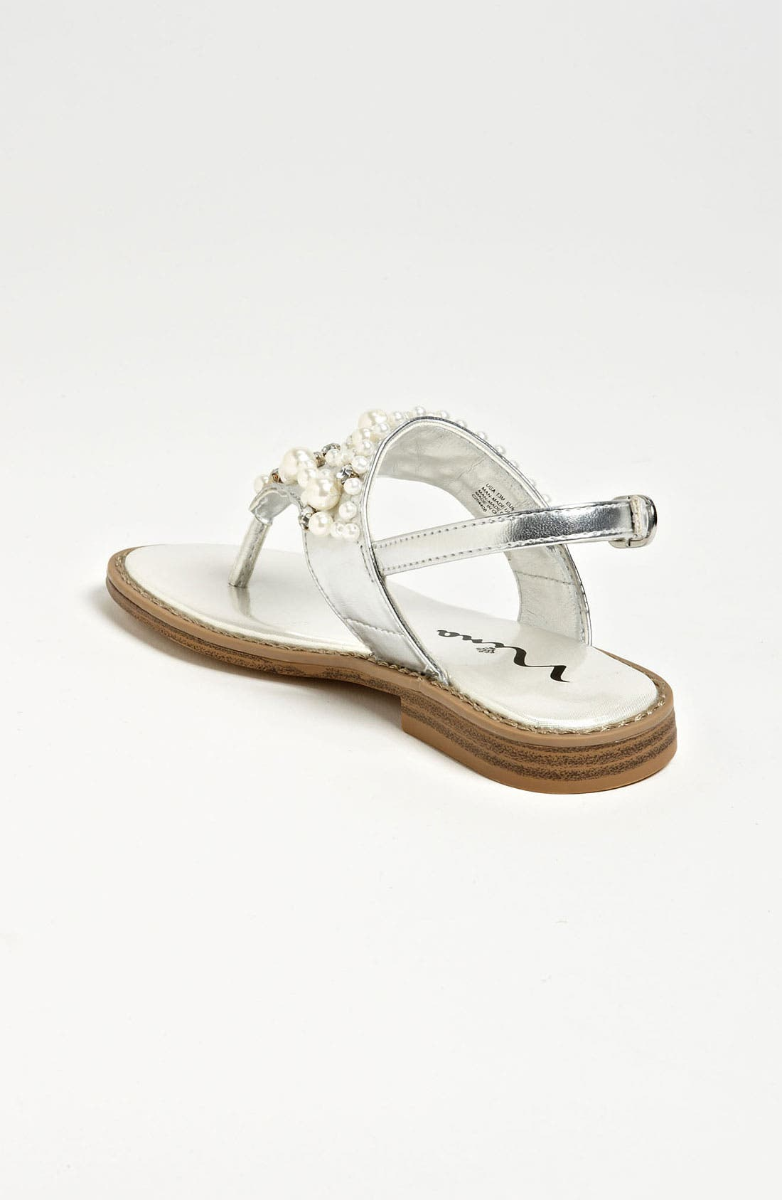 Alternate Image 2  - Nina 'Prissy' Sandal (Walker, Toddler, Little Kid & Big Kid)