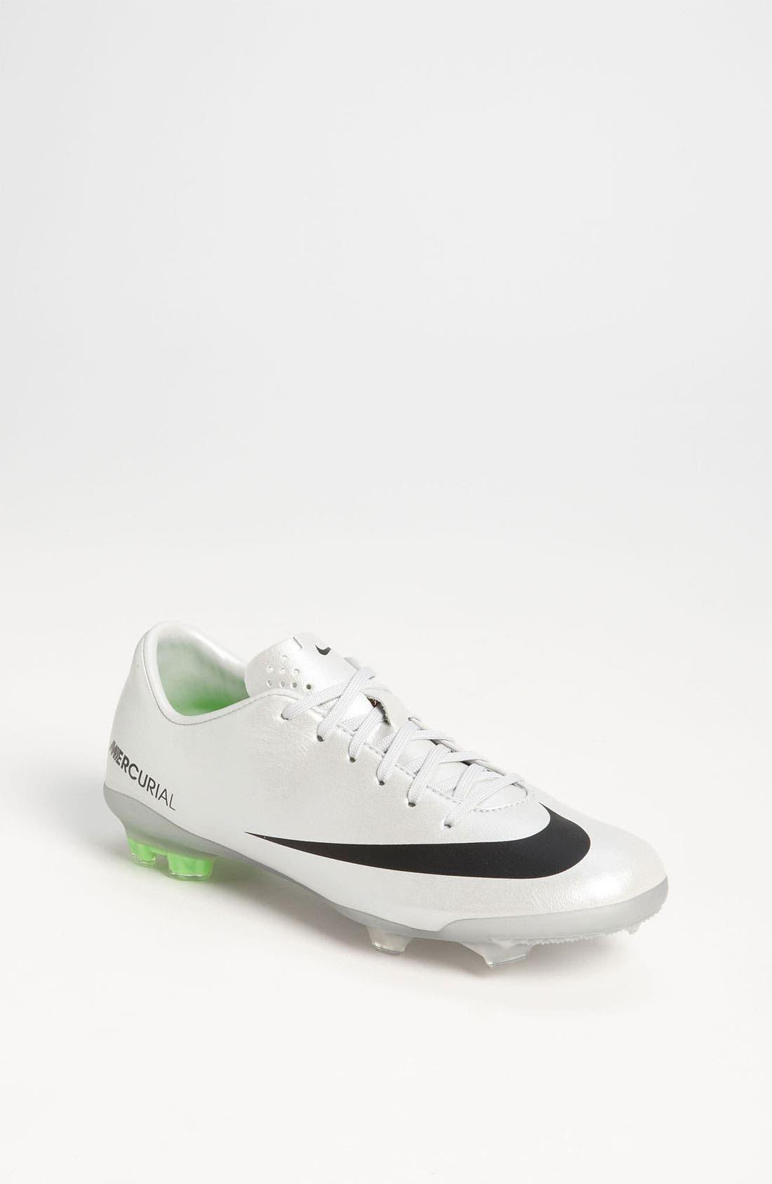 Alternate Image 1 Selected - Nike 'Jr. Mercurial Vapor' Soccer Cleat (Little Kid & Big Kid)