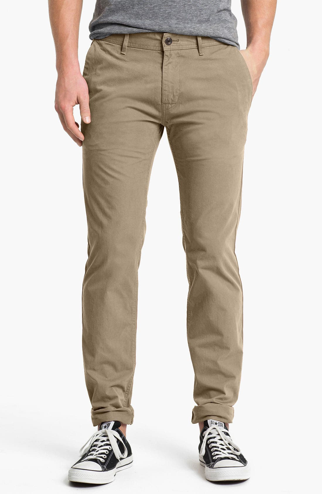Main Image - BOSS Orange Slim Fit Chinos