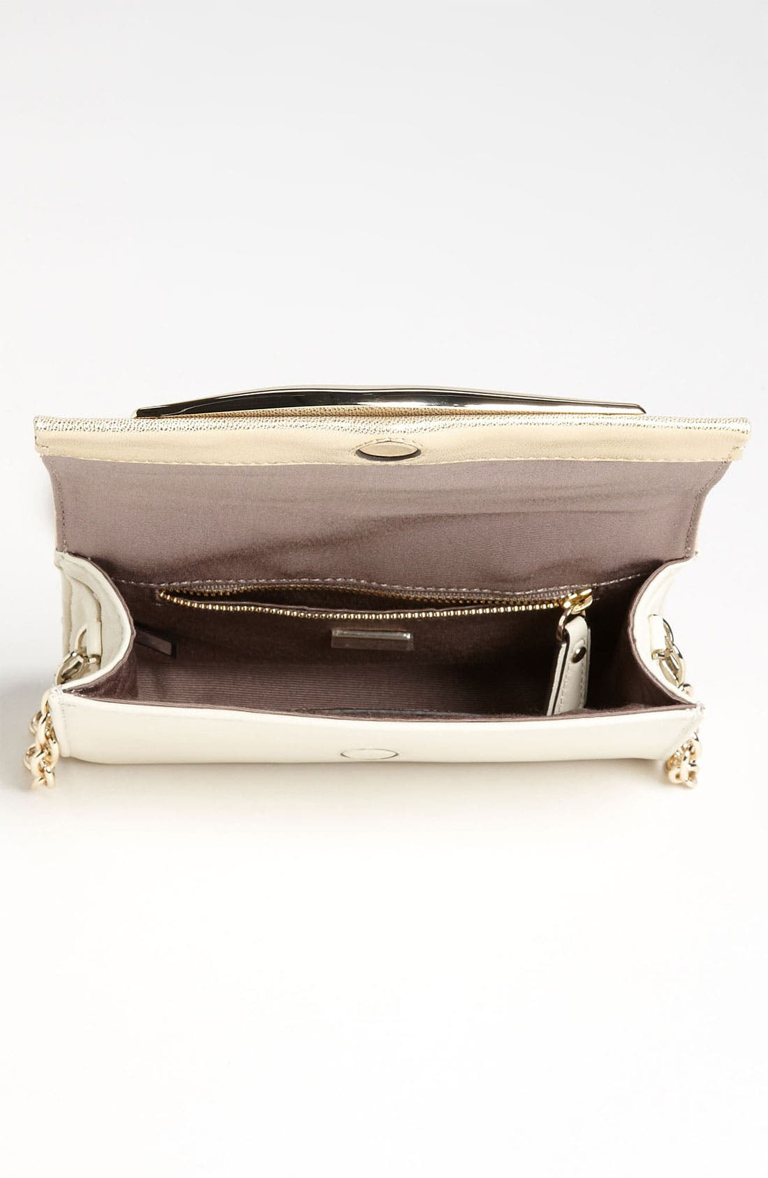 Alternate Image 3  - Diane von Furstenberg 'Lips - Mini' Metallic Leather Clutch