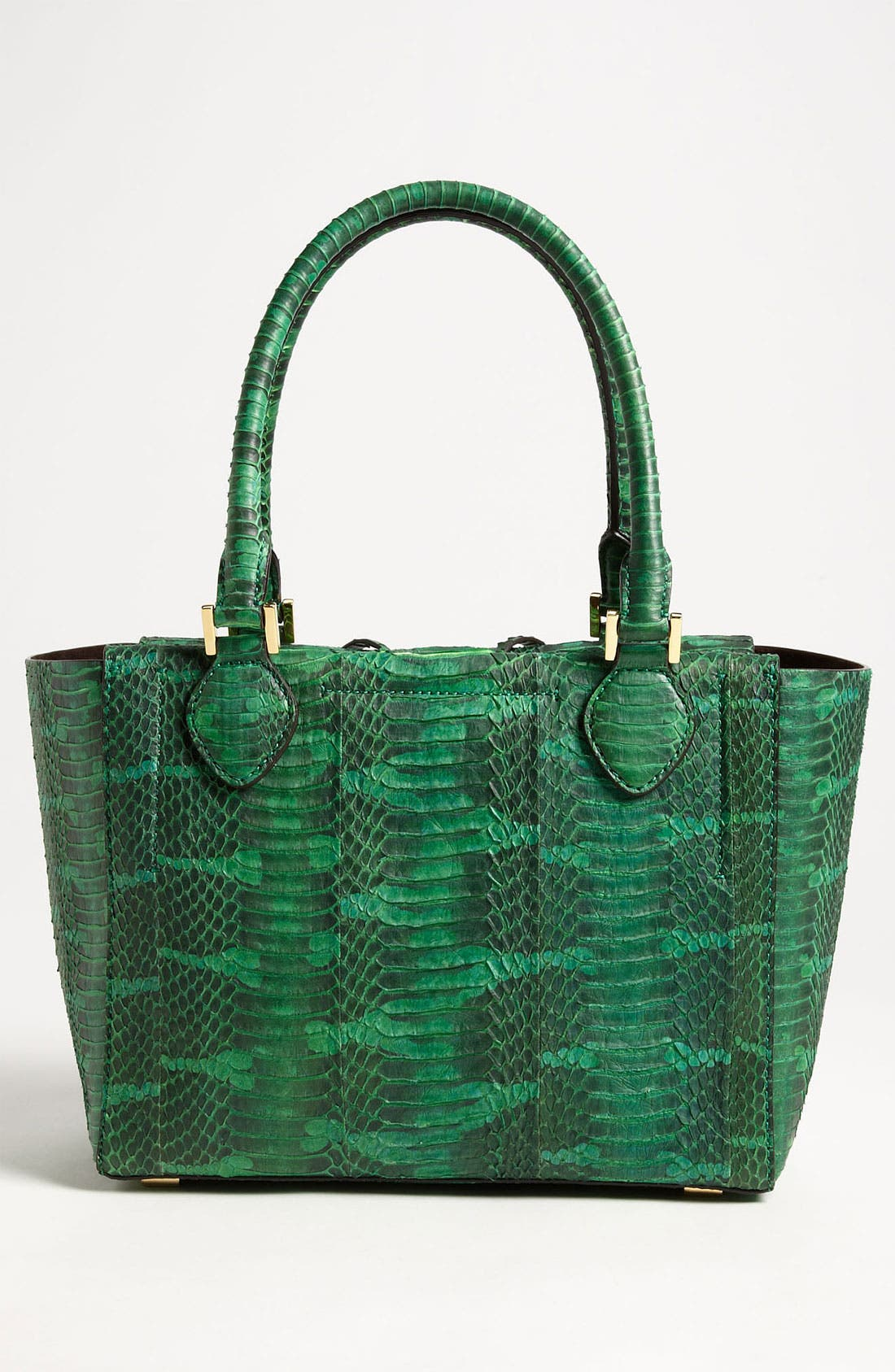 Alternate Image 4  - Michael Kors 'Miranda' Genuine Snakeskin Tote