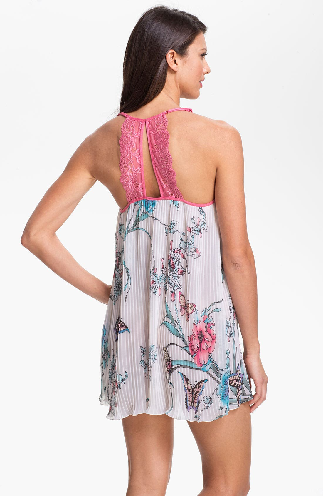 Alternate Image 1 Selected - In Bloom by Jonquil 'Asian Butterfly' Chemise