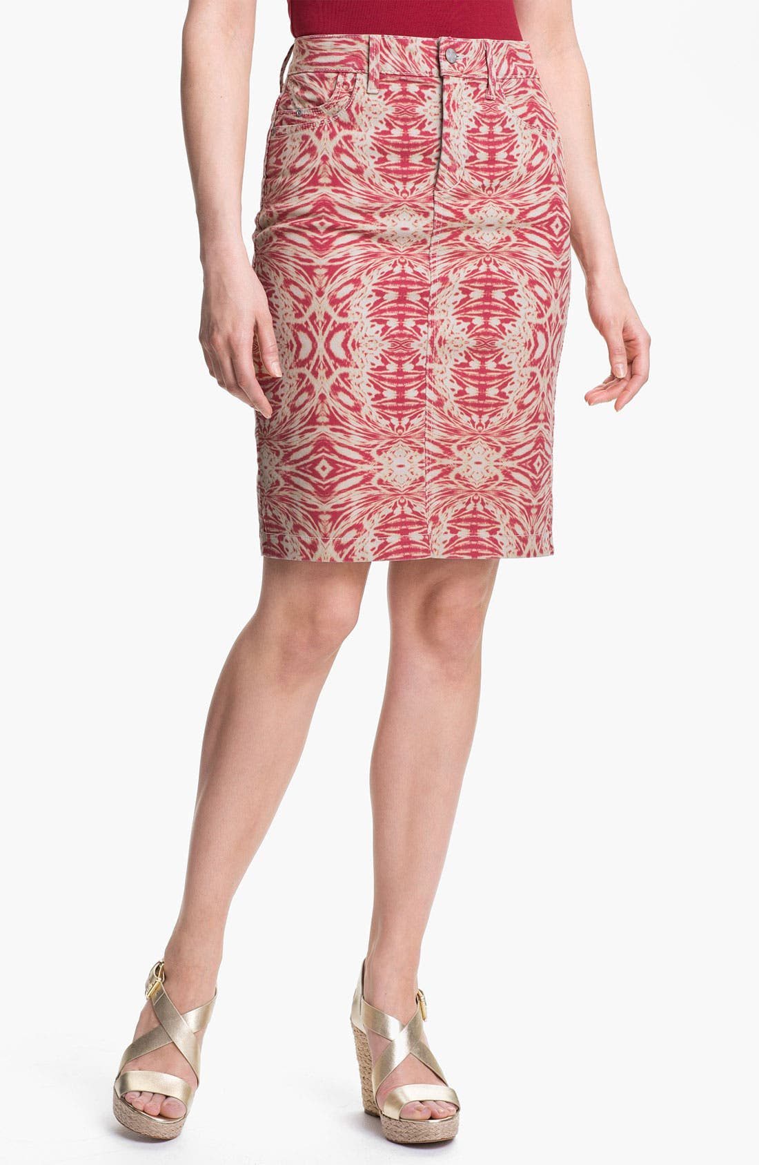 Alternate Image 1 Selected - NYDJ 'Emma' Stretch Twill Skirt