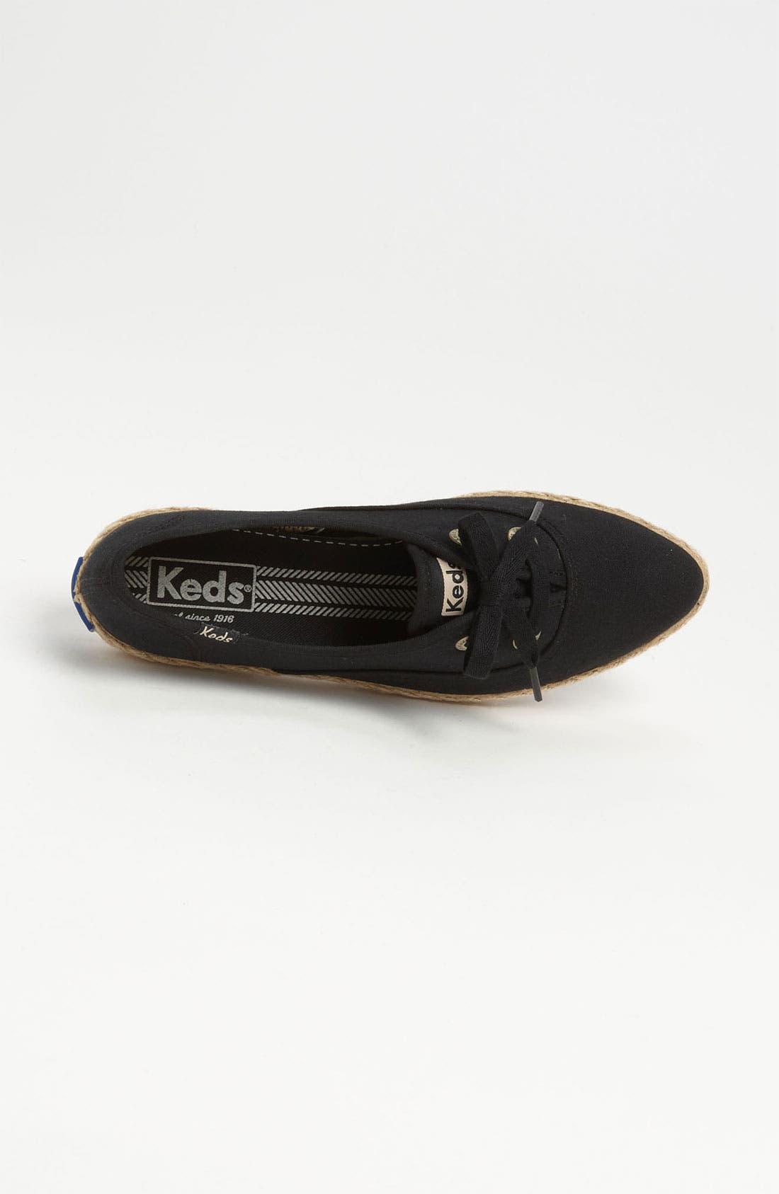 Alternate Image 3  - Keds® 'Pointer Animal' Jute Trim Sneaker (Women)
